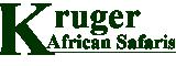 Kruger African Safaris